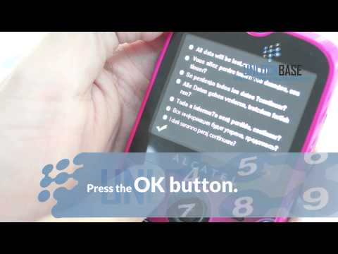 How to Hard Reset your Alcatel One Touch Tribe (OT-800)