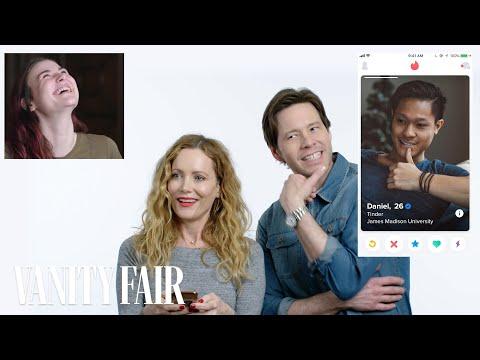Leslie Mann and Ike Barinholtz Hijack a Stranger's Tinder | Vanity Fair