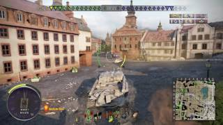 World of Tanks Ps4 ISU-122S Live commentary