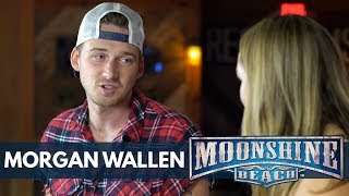 "Download Lagu Morgan Wallen Talks About Being on ""The Voice"" | Moonshine Beach Gratis STAFABAND"