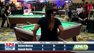 Semi-Finals - 9-Ball Shootout Championship - 2016 APA Poolplayer Championships