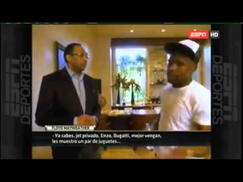 Floyd Mayweather talks about Manny Pacquiao