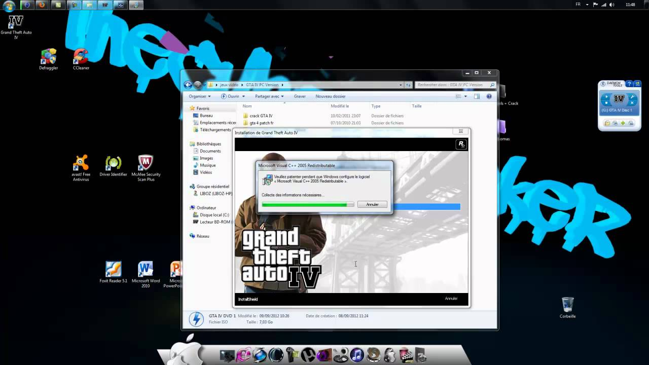 Tuto telecharger et cracker gta iv fr pc youtube - Telecharger daemon tools lite gratuit francais ...