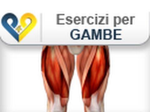 Esercizi Gambe: Squat