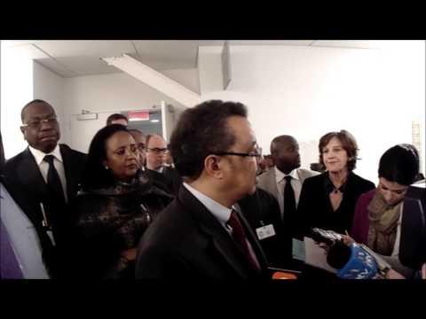 On Kenya & ICC, Ethiopia's Tedros Adhanom for AU says UNSC Should Defer A Year, Resolution Soon