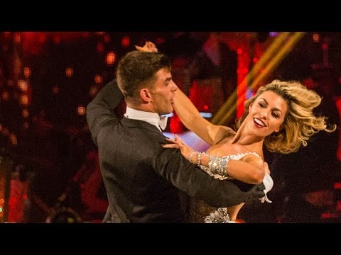 Abbey Clancy & Aljaz dance the Viennesse Waltz to  Delilah  - Strictly Come Dancing - BBC One