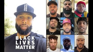 NFL Players Black Lives Matter video