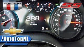 CHEVROLET CAMARO SS ACCELERATION & TOP SPEED 0-288km/h by AutoTopNL