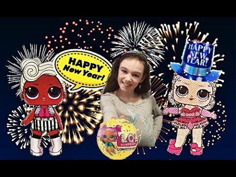 NEW YEAR'S EVE CONFETTI POP UNBOXING! LOL SURPRISE DOLL SERIES 3 CONFETTI POP TOT! LOL Confetti Pop!