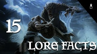 Elder Scrolls : 15 LORE FACTS INSOLITES #2