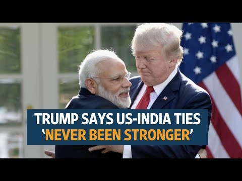 US-India ties have 'never been stronger': Donald Trump