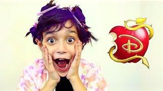 MAL DOS DESCENDENTES !★ ARRUME-SE COMIGO  para minha festa de aniversárioDisney! (GET READY WITH ME)