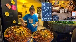 Vlog 69| Bò Kho Gánh Sư Vạn Hạnh ngày bán cả ngàn tô ở Sài Gòn