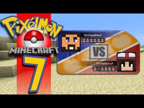 Minecraft Pixelmon - EP07 - My First Real Battle!