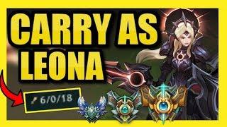 #1 LEONA NA || HOW TO CARRY ON LEONA IN SEASON 9! || LEONA *ONLY* TO DIAMOND!