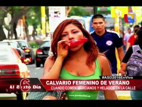 Acoso En Verano: Así Sufren Las Mujeres Cuando Comen Marcianos O Helados En La Calle