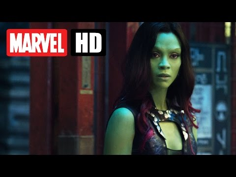 GUARDIANS OF THE GALAXY - Character Video: Gamora - Deutsch | German - Marvel HD