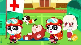 Baby Panda's Earthquake Rescue P1 Play Kids Rescue People In The Earthquake - Fun Educational Games