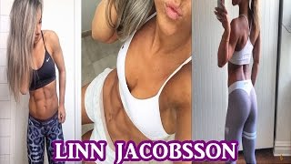 Linn Jacobsson - Sexy Fitness Model / All Exercises For a Ripped Body