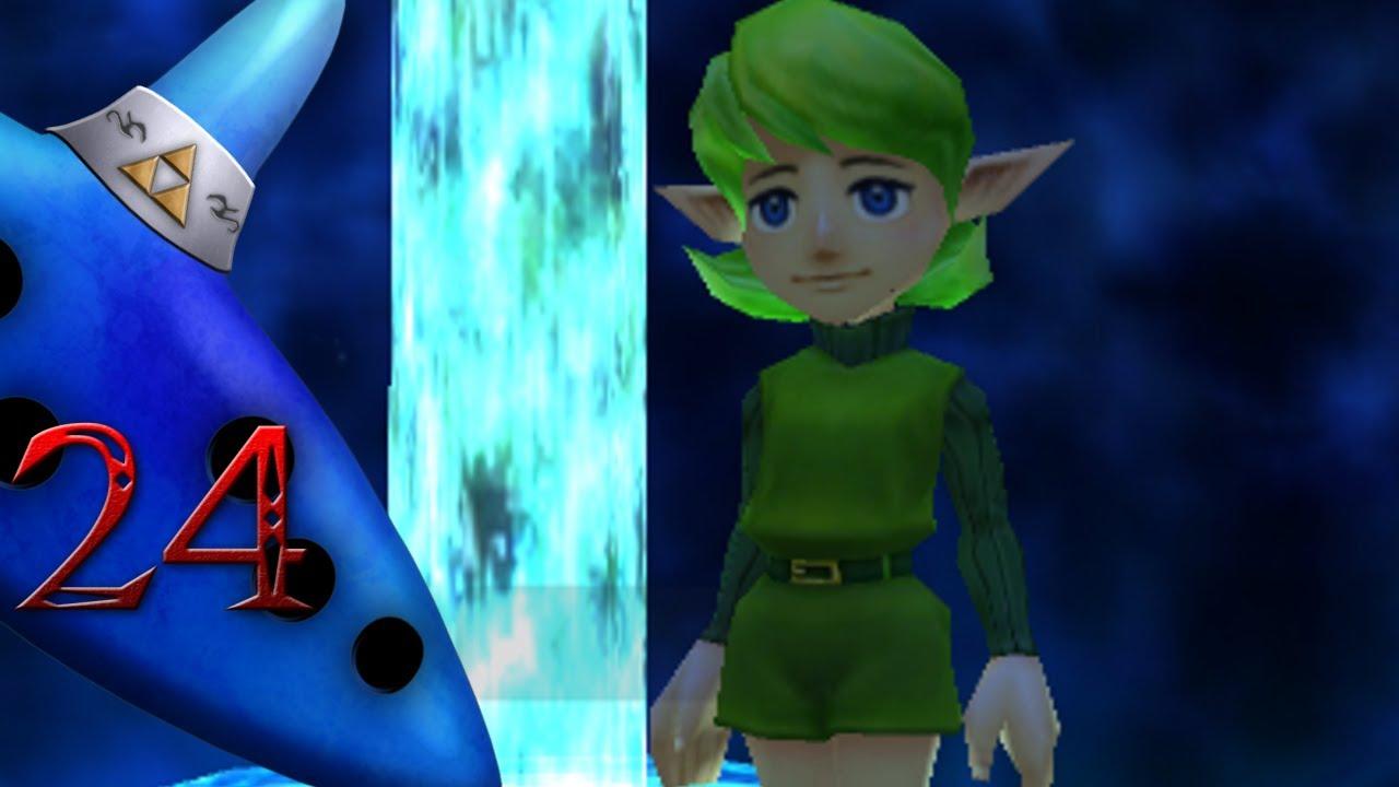Zelda: Ocarina Of Time 3D - Part 24: The Forest Sage - YouTube
