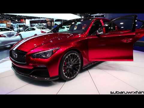 Infiniti Q50 Eau Rouge Design And Discussion: Detroit 2014