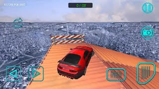 đua xe mạo hiểm*p5#o to hoat hin#racing game#Impossible Stunt Car/level 1 ~5 kc car for kid