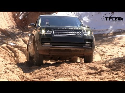 2013 Range Rover On and Off-Road 0-60 MPH First Drive Review