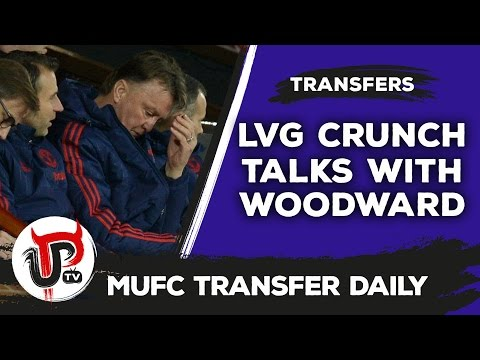 Van Gaal set for crunch talks with Woodward! | MUFC Transfer Daily
