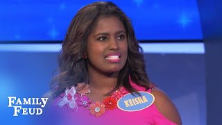 A NEW CAR for the Minks? | Family Feud