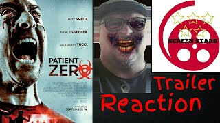 Patient Zero Official Trailer Reaction (2018 Matt Smith Zombie Horror Movie)