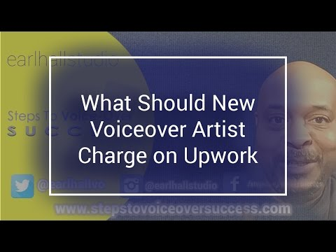 What Should New Voiceover Artist Charge on Upwork