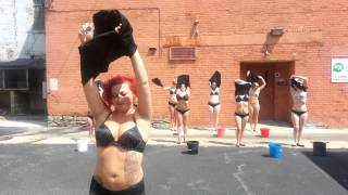 Cin City Burlesque accepts the ALS ice bucket chal