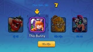 Nhân vật Thỏ Bunny trong Ngôi sao bộ lạc 360m0bi có gì đặc biệt