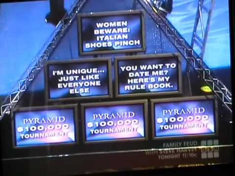 $10 000 pyramid final categories
