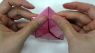 How To Make - Origami Lotus
