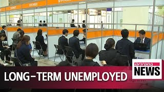 Number of long-term jobless in South Korea hit 18-year high in H1