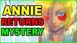 OLDER ANNIE RETURNS! NEW Eren Older LOOK & BEAST TITAN SECRET PLAN | Attack on Titan Chapter 106