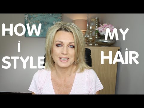 HOW I STYLE  MY FINE HAIR(2016)