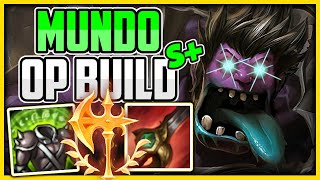 How to Actually Dr. Mundo Jungle & Carry Low Elo | Best Build & Runes -Mundo Jungle Commentary Guide