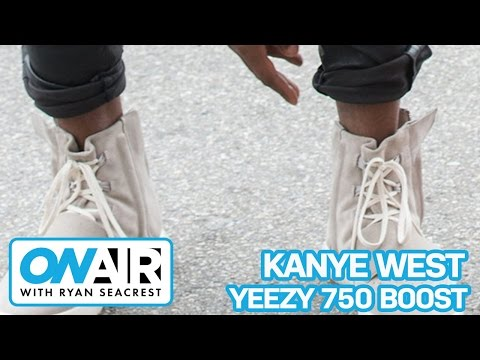 Kanye West On Adidas Yeezy 750 Boost | On Air with Ryan Seacrest