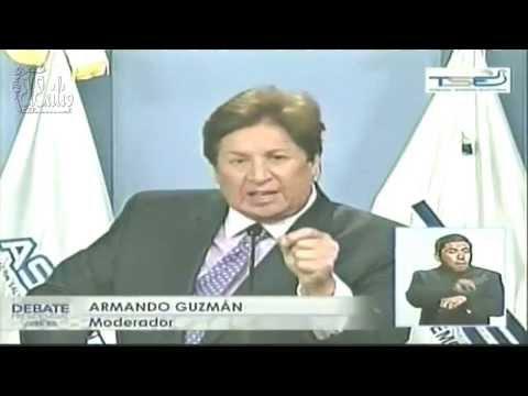 Debate Presidencial El Salvador ASDER 2014