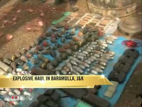 Huge cache of explosives recovered in J&K