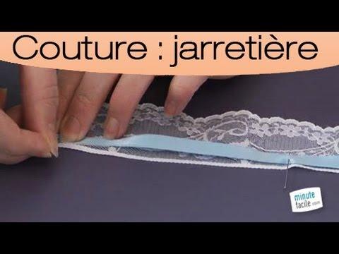 Accessoires comment r aliser une jarreti re youtube - Comment realiser une video ...