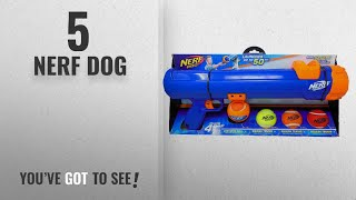 Top 5 Nerf Dog [2018 Best Sellers]: Nerf Dog Tennis Ball Blaster Gift Set