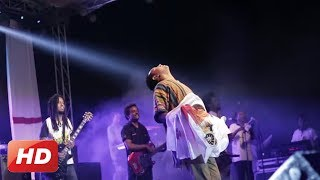 "Pop Star Teddy Afro Singing ""Gonder Gonder"" At Bahir Dar"