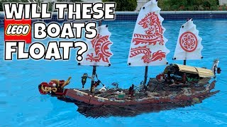 DO THESE LEGO BOATS FLOAT? #3