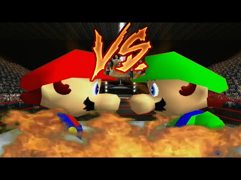 Supah Star Rap Battles of EPICNESS: Mario VS Luigi.