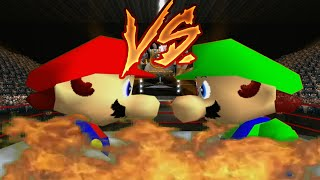 Supah Star Rap Battles of EPICNESS: Mario VS Luigi.