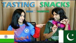 Tasting Snacks | Pakistan vs India | Rahim Pardesi