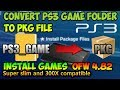 PS3 Install Games Small And Large PKG Converted PS3Xploit V3 HAN mp3